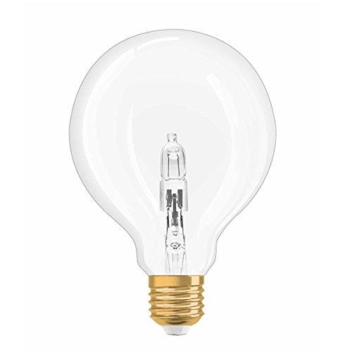 Preisvergleich Produktbild Osram Vintage Edition Halogen-Lampe,  Globe - Form,  E27-Sockel,  dimmbar,  20 Watt - Ersatz für 25 Watt,  Warmweiß - 2700K