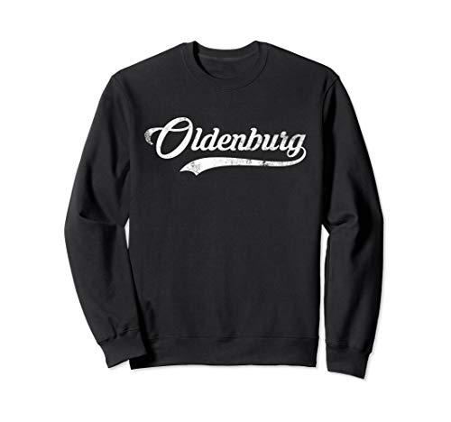 Oldenburg Stadt Vintage Design - Coole alte Schule Sweatshirt