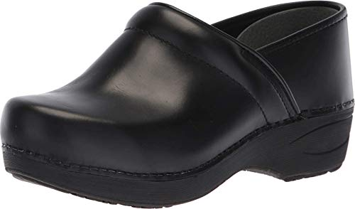 Dansko Women's XP 2.0 Black Pull Up Clogs 8.5-9 Wide US