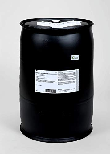 3M Fast Tack Water Based Adhesive 1000NF, Purple, 55 Gallon Poly Closed Head Drum (52 Gallon Net)