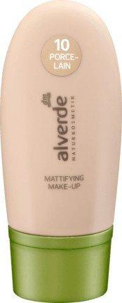 Alverde, Foundation, Mattifying Make-up, 10PORCELAIN