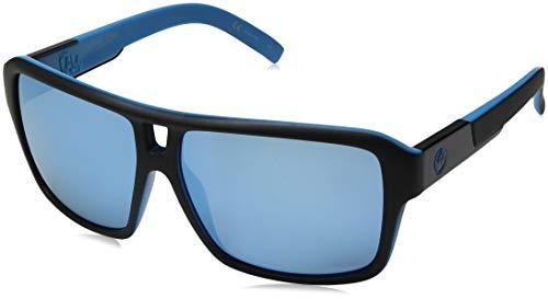 Dragon Alliance Matte Black Sky Blue Ion The Jam Sunglasses, One Size (720-2339)