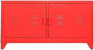 Armoires Generation Simple TV Cabinet Meuble de Rangement de Rangement (sans Tiroir) - Rouge