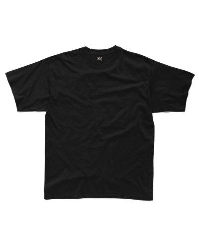 SG sg15-bk-4X L Herren Shirt, 4X Große, schwarz (10Stück)