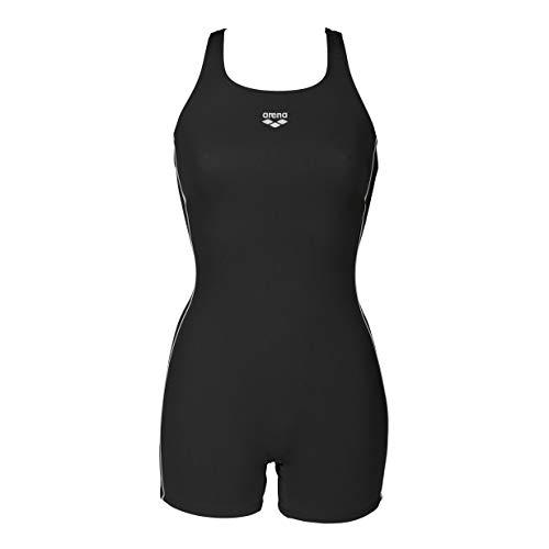 ARENA - Costume da Bagno Sportivo da Donna, Donna, Costume da Bagno, 2A809, Nero, 32