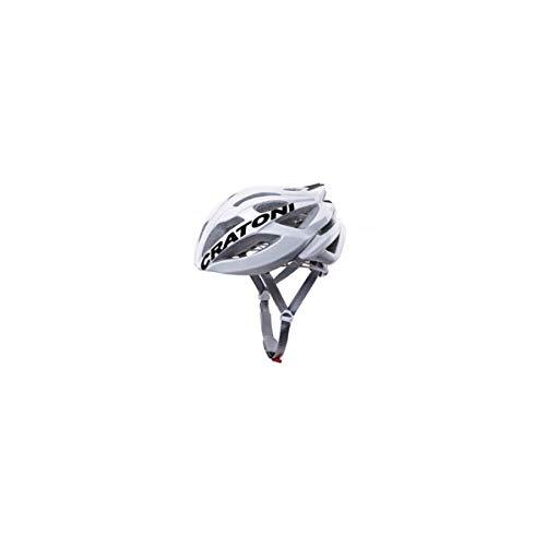 Cratoni C-Bolt Fahrradhelm, White/Black Glossy, L-XL