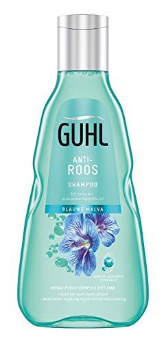 Guhl Anti-Roos Shampoo - met Blauwe Malva - bij roos en jeukende hoofdhuid - 250 ml