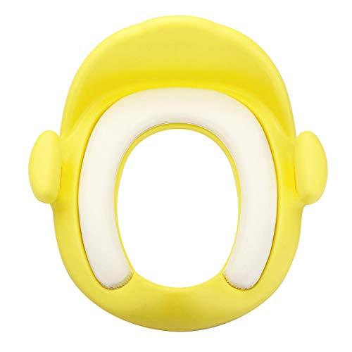 1 Stks Baby Zacht Kussen Toilet Stoelhoezen Peuter Potty Training Stoel Cush met Safe Handvat Baby Potties Geel