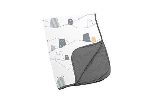 Doomoo Dream Baby Coperta 75 x 100 cm – Morbida coperta in cotone biologico – morbida coperta per neonati e bambini – coperta per bebè versatile