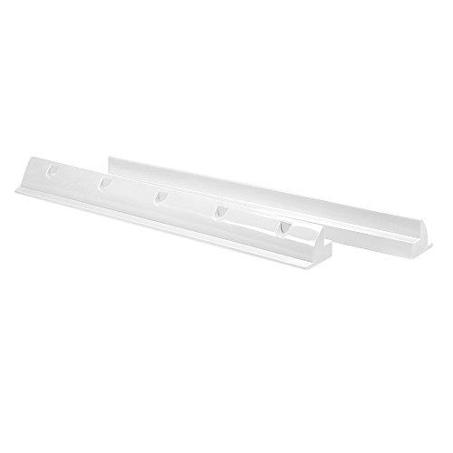 Offgridtec ABS Solarmodul-Spoiler Halterung weiß 68cm - Heavy Duty, 1 Stück, 006565