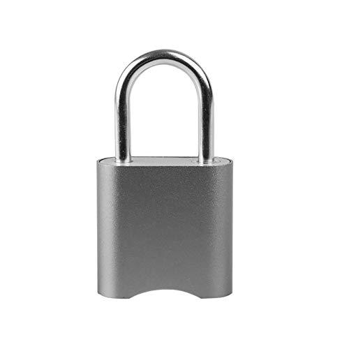 JALAL Elektronisches TüRschloss | Intelligentes SchlüSselloses VorhäNgeschloss | Bluetooth Smartphone Fernbedienung Passwort TüR Zugang Sicherheit Diebstahlsicherung FüR Rucksack Fahrrad