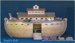 A Woodworking Scroll Saw Patterns and Instructions Plan to Build Your Own Noahs Ark