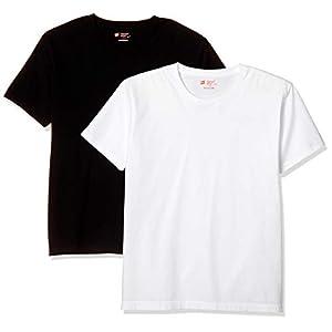 [ヘインズ] Tシャツ(2枚組) 綿100% ジャパンフィット丸首半袖5.3オンス2PJapanFitクルーネックT H5320 メンズ アソート998 L