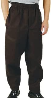 Phoenix 黑色松紧腰厨裤,XXL 码