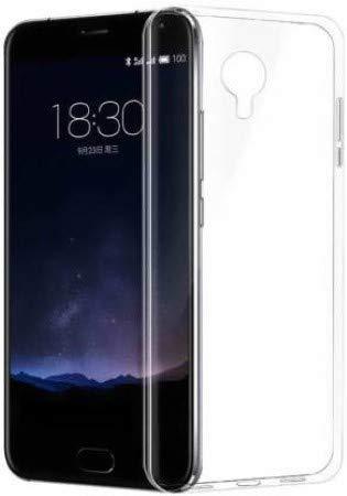 BMB Shoppe Soft & Flexible Transparent Back Phone Case for Micromax Canvas Mega q417 (Transparent)