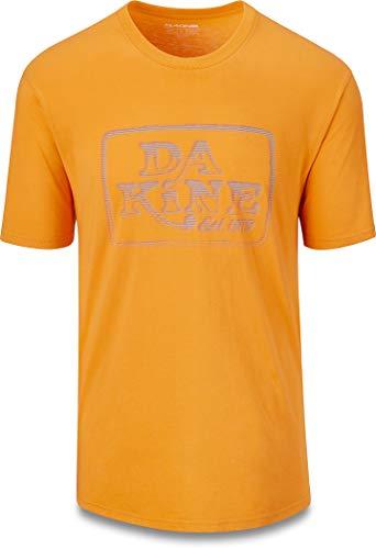 Dakine Herren Classic Ascii T-Shirt Größe L Golden Glow
