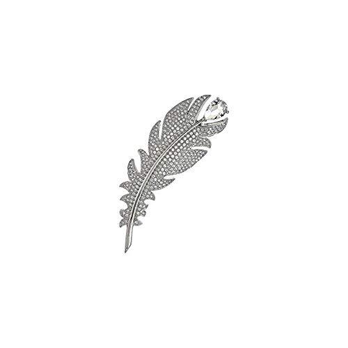 Swarovski Nice Broschen Damen Silber 7 cm
