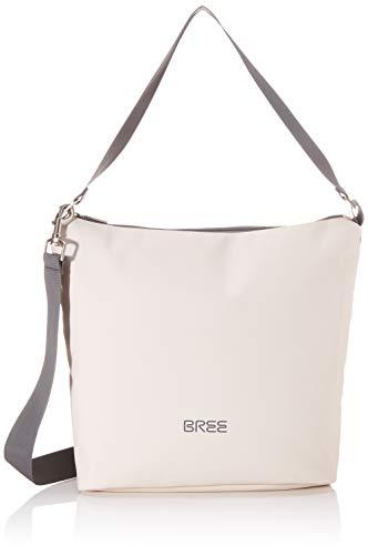 BREE Unisex-Erwachsene PNCH 701 Cross Shoulder Bag S Umhängetasche, Beige (tapioka), 12x30.5x30 cm