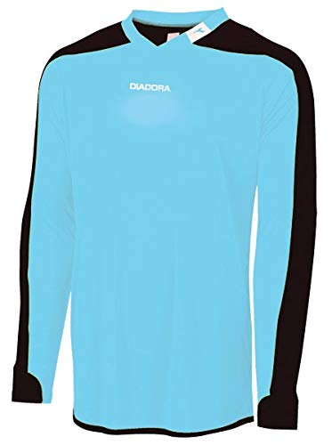 Diadora Enzo Goalkeeper Jersey (Youth Medium, Columbia Blue)