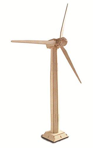 Quay P183 Wind Turbine Woodcraft Construction Kit FSC Bausatz, braun