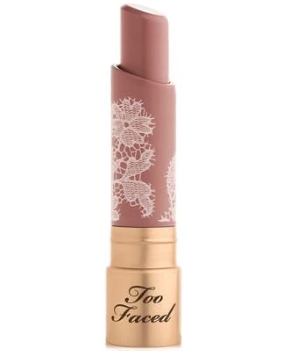メール小学生トンToo Faced Natural Nudes Intense Color Coconut Butter Lipstick Overexposed