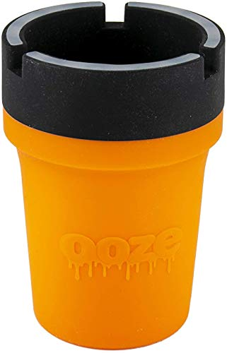 Ooze Roadie - Silicone Car Ashtray - (Orange)