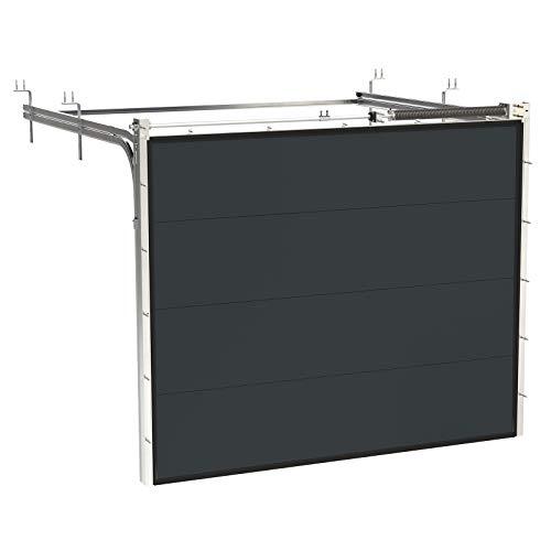 HORI® Garagentor mit Antrieb und Handsender I Sektionaltor gedämmt I I I Größe 2375 mm x 2000 mm