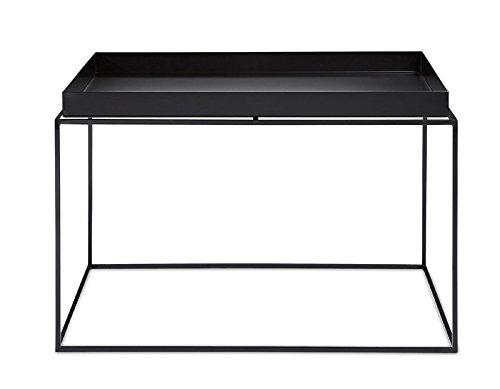 HAY - Tray Table - schwarz - 60 x 39 x 60 cm - Design - Beistelltisch - Couchtisch - Sofatisch