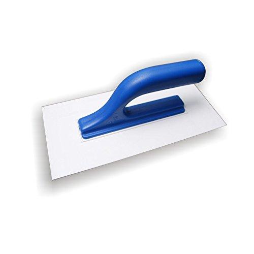 DEWEPRO® Kunststoff Glättekelle - Glätter - Reibebrett - 270x130mm (ABS) - Blattstärke: 3mm - Kunststoffglätter