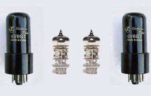 Jellyfish Audio Kit de válvula 6V6/6P6P y 12AX7 para Fender Deluxe y...