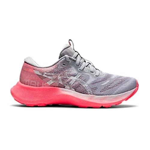 Asics Nimbus 23 Lite Show Hardloopschoen voor op de weg voor Vrouwen Grijs Roze 40 EU