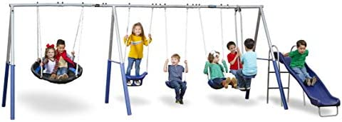 XDP Recreation Fun Forever Swing Set Gray product image