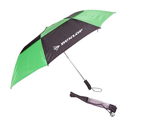 Dunlop 142,2cm Auto Open Kompaktes 2Personen Golf Regenschirm, Color May Vary