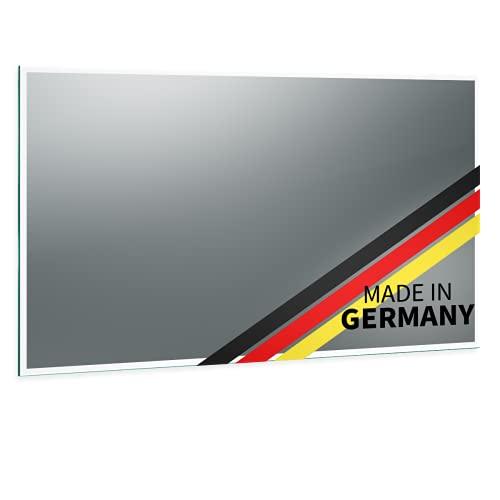 Spiegel ID Siena Design: LED BADSPIEGEL mit Beleuchtung - jetzt konfigurieren - Made in Germany - Auswahl: (Breite) 200 cm x (Höhe) 80 cm - Modell: 2201002 - LED Lichtfarbe: warmweiß