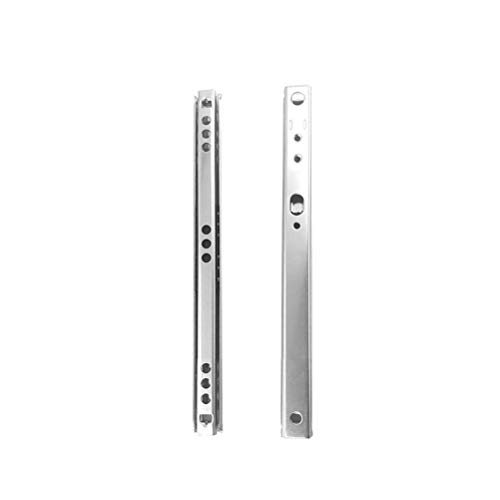 17mm X 250mm metal drawer runners replaces most MFI per pair LPS Universal Replacement furniture drawer runners - Ikea Argos 2 pairs