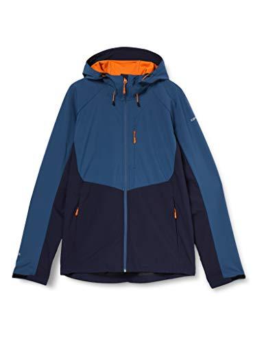 ICEPEAK Herren Barnes Softshell Jacke, dunkel blau, 48