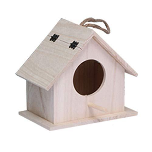 TWW Vogelnest Papageienzucht Box Hängendes Nest Vogelnest Vogelkäfig Pfingstrosen Wellensittich Nest Warmes Vogelnest Haus Stark Und Langlebig,S