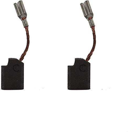 Escobillas de carbón compatibles con Dewalt D28402, D28110, D28111, D28112, D28402N pieza de repuesto para amoladora angular para herramientas eléctricas