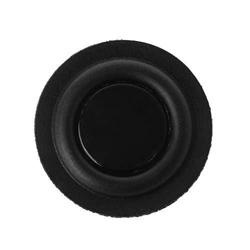 certylu 30mm Passive Radiator Subwoofer-Lautsprecher Vibrationsmembran Bassgummi-Tieftöner