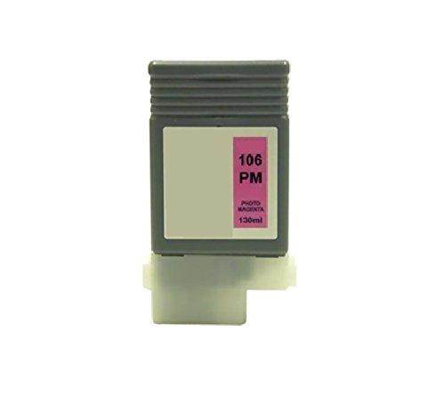 Gigablock Compatible Ink cartridges (PFI-106 Photo Magenta) for Canon iPF 6400se 6400s 6400 6450
