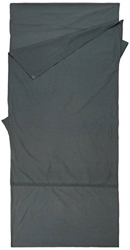 McKINLEY Decken-Innenschlafsack Baumwolle, Charcoal, One Size