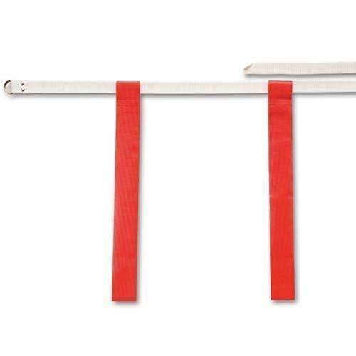 Flag-A-Tag Cinturones de bandera ajustables, color rojo