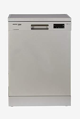Voltas Beko 14 Place Settings Dishwasher (DF14S2, Silver)