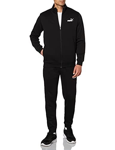 PUMA Chándal Clean Sweat Suit FL, Puma Black, L