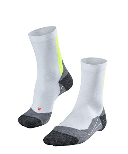 FALKE Herren Achilles M SO Laufsocken, Weiß (White-Lightning 2021), 42-43 (UK 8-9 Ι US 9-10)