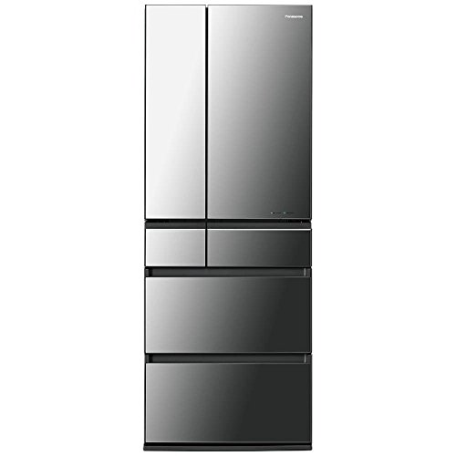 パナソニック NR-F553HPX-X 6ドア冷蔵庫 550L HPXタイプ オニキスミラー