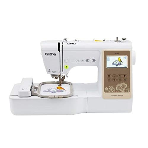 Brother SE625 Combination Computerized Sewing and 4x4 Embroidery Machine with Color LCD Display, 280 Total Embroidery Designs (Renewed)