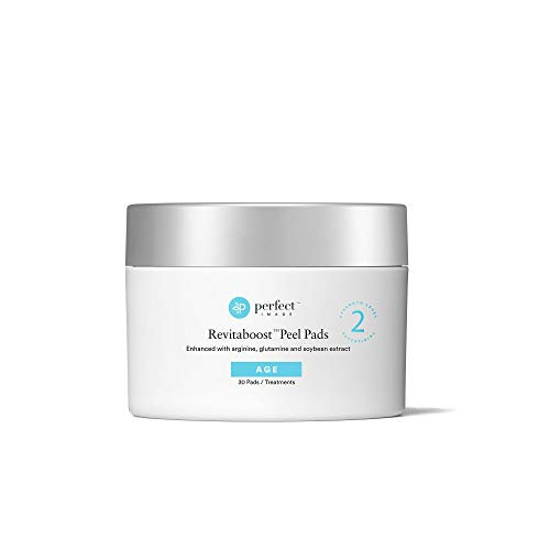 Revitaboost Peel 35% Anti-Aging Peel Pads, Enhanced with Glycolic Acid, TCA, Mandelic Acid, Arginine, Glutamine - Perfect Image