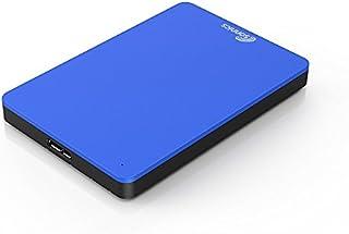 Sonnics 320GB Azul Disco duro externo portátil de Velocidad de transferencia ultrarrápida USB 3.0 para PC Windows, Apple Mac, Smart TV, XBOX ONE y PS4