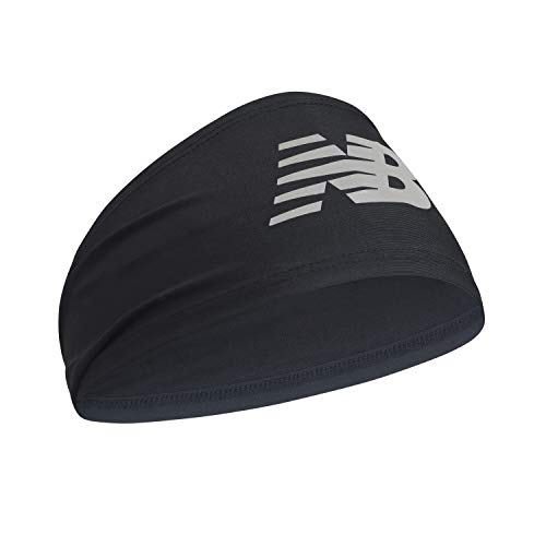 New Balance Men's and Women's Skull Cap Beanie, Athletic Headband Black